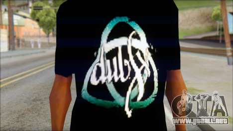 Dub Fx Fan T-Shirt v2 para GTA San Andreas tercera pantalla