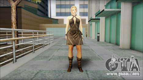 Sarah from Dead or Alive 5 v3 para GTA San Andreas