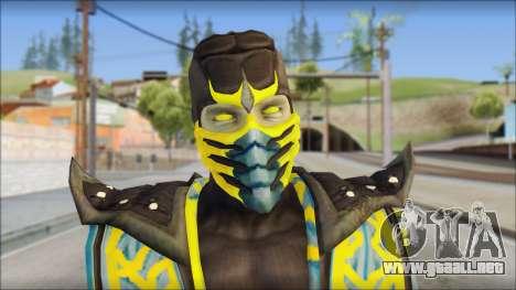 Scorpion Skin v2 para GTA San Andreas tercera pantalla