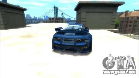 CyborX CD XL-GT para GTA 4 Vista posterior izquierda