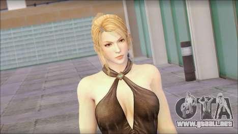 Sarah from Dead or Alive 5 v3 para GTA San Andreas tercera pantalla