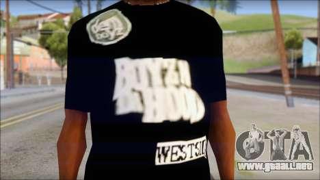 Dem Boyz T-Shirt para GTA San Andreas tercera pantalla