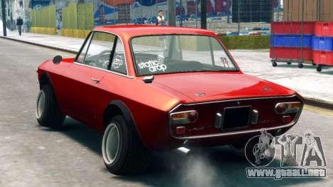 Lancia Fulvia HF para GTA 4 left