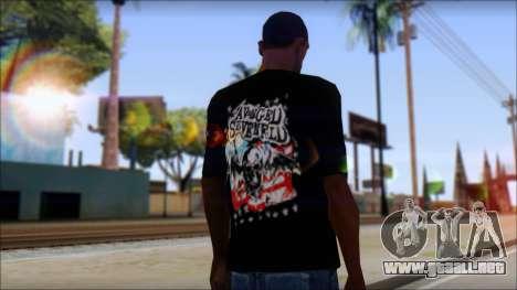 A7X Stars And Stripes T-Shirt para GTA San Andreas segunda pantalla
