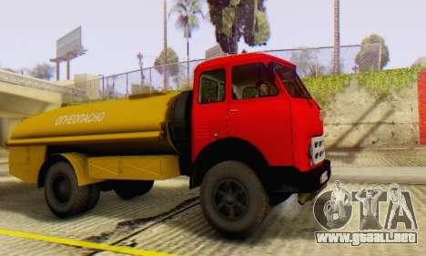 MAZ 500A Bowser para la visión correcta GTA San Andreas