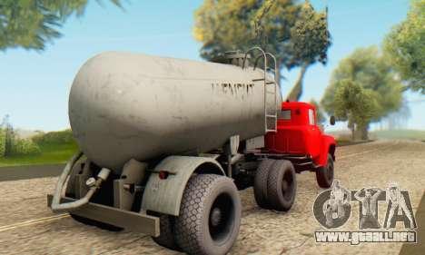 Trailer de cemento portador de la TTC 26 para GTA San Andreas left