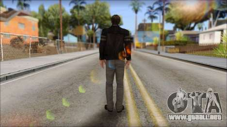 Leon Kennedy from Resident Evil 6 v2 para GTA San Andreas segunda pantalla