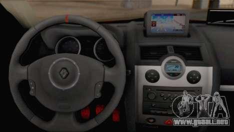 Renault Megane II HatchBack para GTA San Andreas vista posterior izquierda