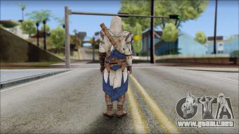 Connor Kenway Assassin Creed III v2 para GTA San Andreas segunda pantalla