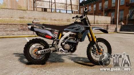Yamaha YZF-450 v1.2 para GTA 4 left