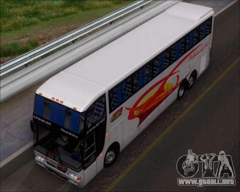 Busscar Jum Buss 400 Volvo B10R Pullman Del Sur para GTA San Andreas interior