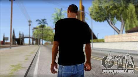 DC Shoes Shirt para GTA San Andreas segunda pantalla