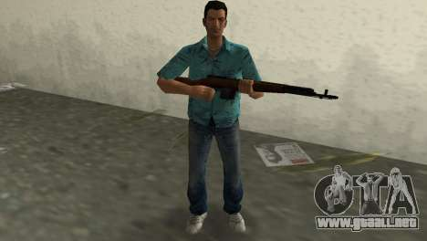 Auto-Carga Del Rifle Tokareva para GTA Vice City