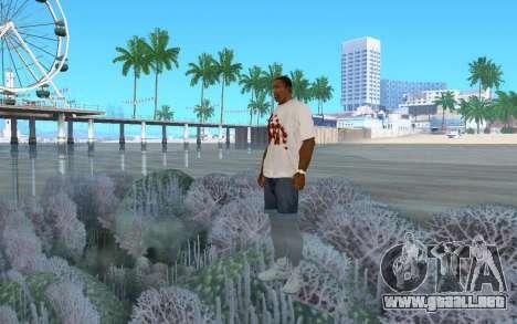 Caminando sobre el agua para GTA San Andreas segunda pantalla