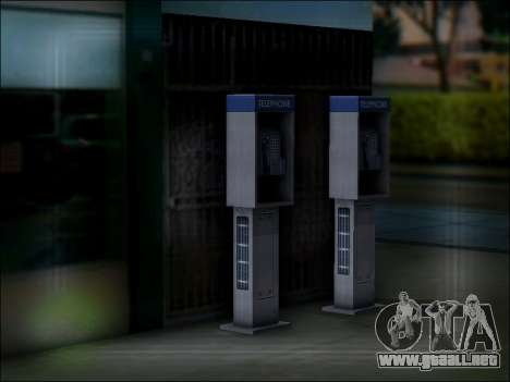 Calle de teléfono para GTA San Andreas quinta pantalla