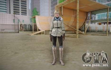 Sherry Birkin Europa from Resident Evil 6 para GTA San Andreas