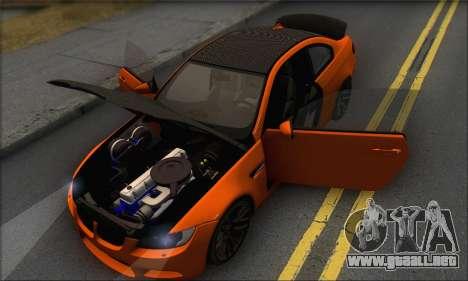 BMW M3 E92 Soft Tuning para vista lateral GTA San Andreas