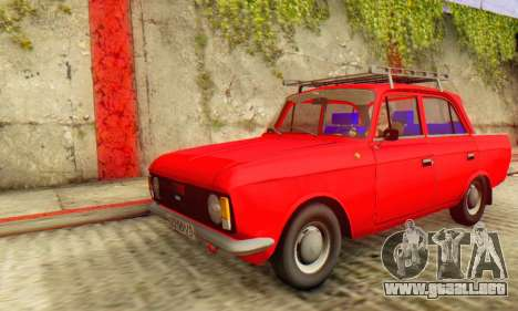 Moskvich 412 [DSA] para GTA San Andreas
