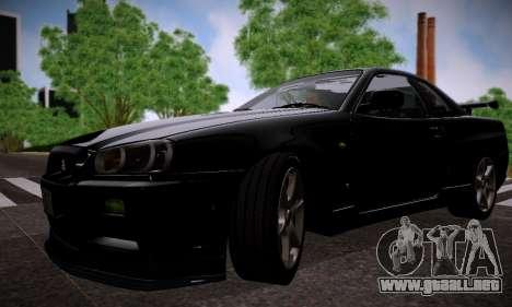 ENBSeries por Makar_SmW86 versión Final para GTA San Andreas sucesivamente de pantalla