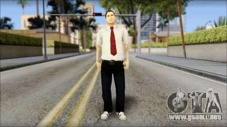 Dean from Good Charlotte para GTA San Andreas