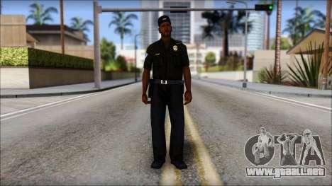 Sweet Policia para GTA San Andreas segunda pantalla