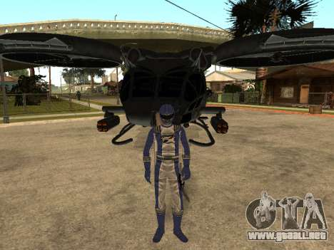 Power Rangers Operation Overdrive para GTA San Andreas séptima pantalla