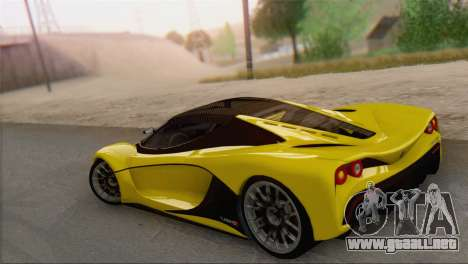 GTA V Turismo R para GTA San Andreas left
