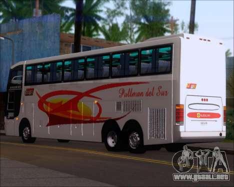 Busscar Jum Buss 400 Volvo B10R Pullman Del Sur para la visión correcta GTA San Andreas
