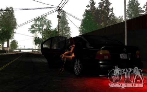ENBSeries v5.2 Samp Editon para GTA San Andreas segunda pantalla