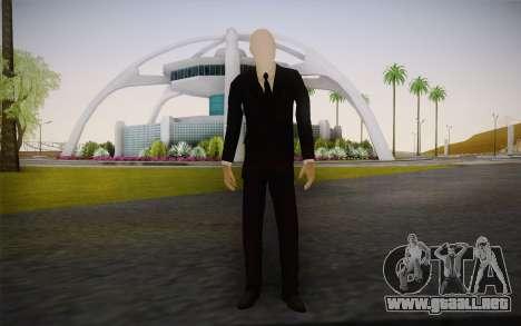 Slenderman para GTA San Andreas