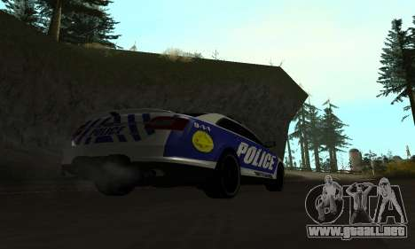 Ford Taurus HSO Police para GTA San Andreas left
