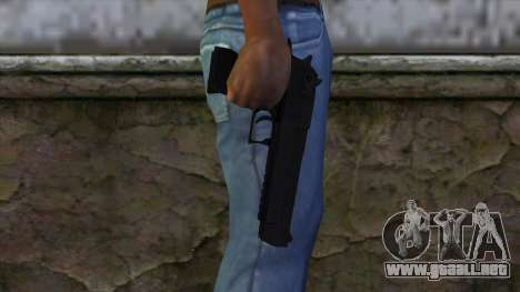 Desert Eagle from CS GO 1.0 para GTA San Andreas tercera pantalla