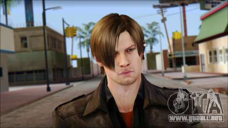 Leon Kennedy from Resident Evil 6 v1 para GTA San Andreas tercera pantalla
