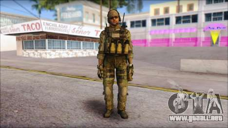 Grinch from Modern Warfare 3 para GTA San Andreas