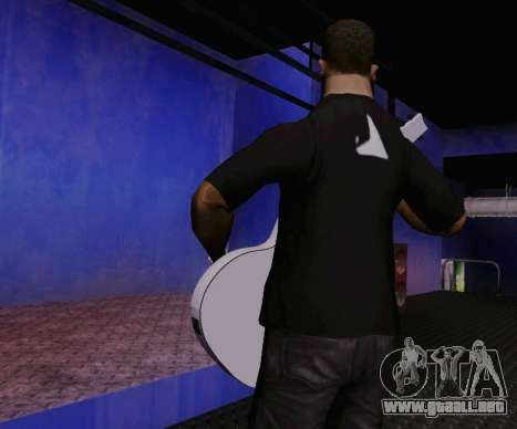 Canciones de Viktor Tsoi guitarra para GTA San Andreas tercera pantalla