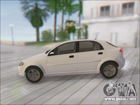Chevrolet Lacetti para GTA San Andreas left