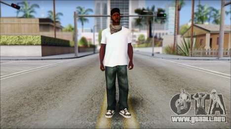 Sweet Normal para GTA San Andreas segunda pantalla