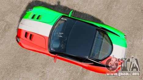 Ferrari 599 GTO PJ4 para GTA 4 visión correcta