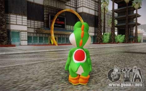 Yoshi from Super Mario para GTA San Andreas segunda pantalla