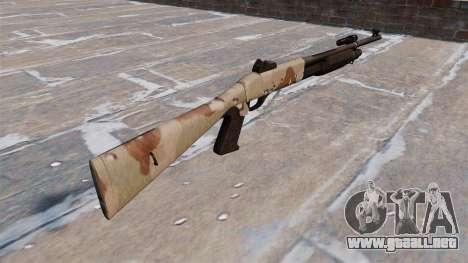 Ружье Benelli M3 Super 90 choco para GTA 4 segundos de pantalla