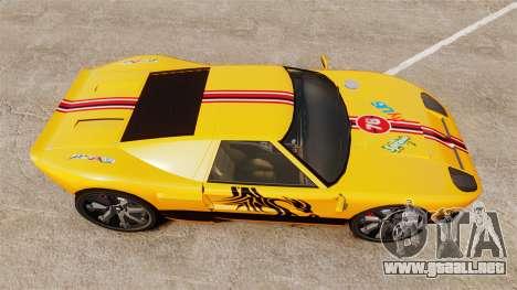 Vapid Bullet RS para GTA 4 visión correcta