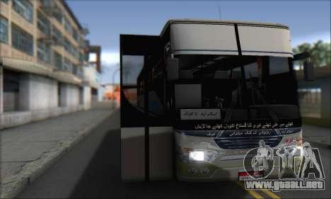 Sada Bahar Coach para GTA San Andreas vista posterior izquierda