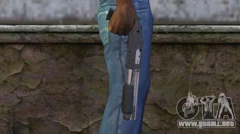 Sawnoff Shotgun from GTA 5 v2 para GTA San Andreas tercera pantalla