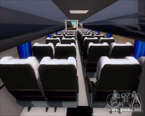Busscar Vissta Buss LO Mercedes Benz 0-500RS para visión interna GTA San Andreas
