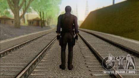 Leon .S.Kennedy v2 para GTA San Andreas segunda pantalla