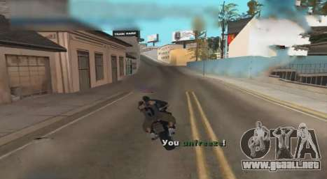 Unfreeze para GTA San Andreas
