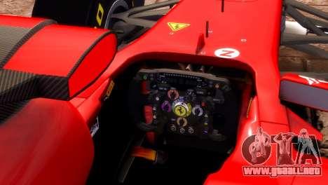 Ferrari 150 Italia para GTA 4 visión correcta