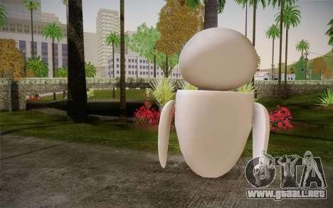 Eve Skin para GTA San Andreas segunda pantalla