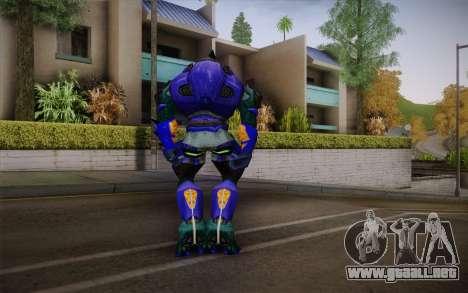 Blue Elite v2 para GTA San Andreas segunda pantalla