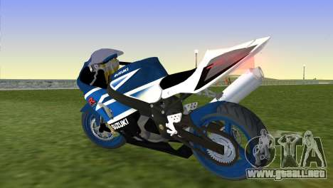 Suzuki GSX-R 1000 para GTA Vice City left
